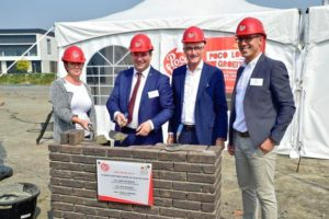 official start of the construction of poco loco warehouse